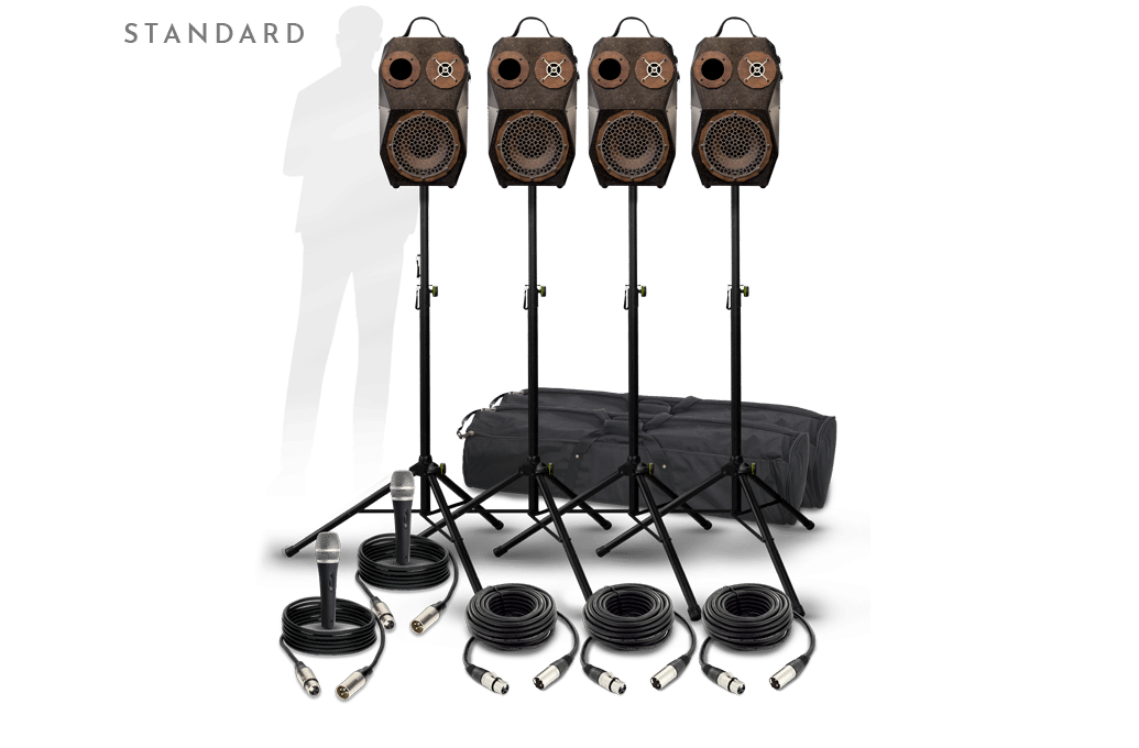 pack voodoo pro sono puissante modulaire